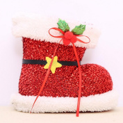 Nesee Christstmas Decor Candy Boots Party Decoration Christmas Candy Sock Gift Bag