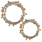 Stars in the Universe Frames Laser Cut Chipboard - 2 piece set