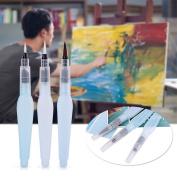 Refillable Water Brush Pen, 3Pcs/6Pcs Pilot Ink and Paint Art Pens Plus Fill Tool Watercolour Painting Calligraphy Art Crafts Set