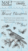 My Sentiments Exactly Clear Stamps 10cm x 15cm Sheet-Blessed Christmas Colouring Cards