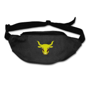 Cartoon Cow Adjustable Belt Waist Pack Waist Bag Running Pack Personality For Men Women