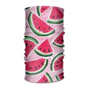 ZQQZ Watermelon Oil Painting Multifunctional Magic Headwear 12-in-1 Men & Women Tube Scarf Facemask Headbands Neck Gaiter Bandana Balaclava Helmet For Outdoor Running Yoga Work Out