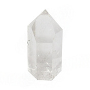 ONE (1) Polished Crystal Quartz Point - Crystal Quartz Point - Reiki - Metaphysical - Rock Paradise Exclusive COA