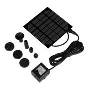 OTTFF Solar Power Fountain Brushless Water Pumps Kit 150L/H - 3.5m Cable