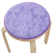 Upscale Velvet Art Round Seat Cushion Round chair cushion Baby rounded pad slip Chair Seat Student Thickened Round Pad Bar Stool Mat