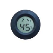 XUANOU Mini LCD Display Digital Thermometer Hygrometer Round Shape Temperature Humidity Metre