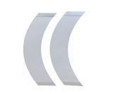 """GEX Super Tape Wig HairPiece Toupee Tape Contour Shape """"CC"""" 5 PCS Per Bag"""