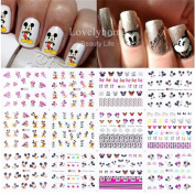 ShungHO Nail Stickers DIY Decoration Tools 12pcs