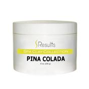 Spa Clay Fun Aromas Cocktail Collection Body Wrap Formula - Pina Colada