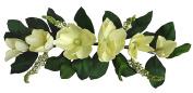 80cm Cream Magnolia Swag