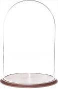 Plymor Brand 37cm x 60cm Glass Display Dome Cloche