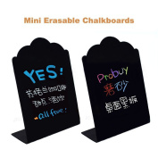 Coolrunner Black Decorative Write On Wedding Signs / Mini Erasable Chalkboards / Cafe Specials Boards