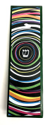 EASY MOUNT Infinity Art Glass Mezuzah, GIFT BOX and Non-Kosher Scroll INCLUDED. Great Mezuzah for Bar or Bat Mitzvah Gift, Wedding, House Warming or Enjoy in Your Home!