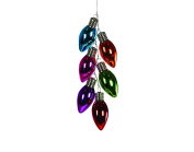 Christmas Traditions Ornament - Light Bulb Cluster - Multi Colour