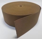 1 YARD - MIL SPEC 10cm ELASTIC WEBBING / MOLLE WEBBING - COYOTE BROWN