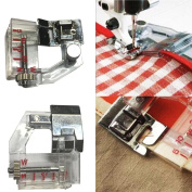 YRD TECH Adjust Bias Tape Binder Foot Snap On For Singer Janome Brother Sewing Machine