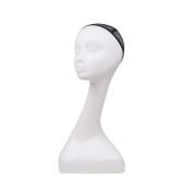 L7 MANNEQUIN Plastic Long Neck Noble Femal Mannequin Head Wig Display