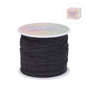 BENECREAT 1mm/2mm/3mm 100Yard Elastic Cord Stretch Thread Beading Cord Fabric Crafting String