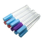 Pack of 10 Multi Colours Plastic Felting Sewing Needles Container Sewing Needles Kit Storage Bottles Holder
