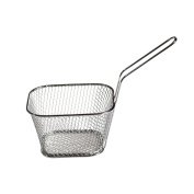 Mini French Fries Net Fry Fryer Basket Kitchen Cooking Tools Small Square Shape