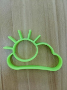 Feesy Cloud Egg Mould,Biscuit Mould Cookie Cutter--Green