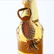 Creazy Bottle Opener Pineapple Shape Alloy Tool Wedding Party Gift Souvenirs