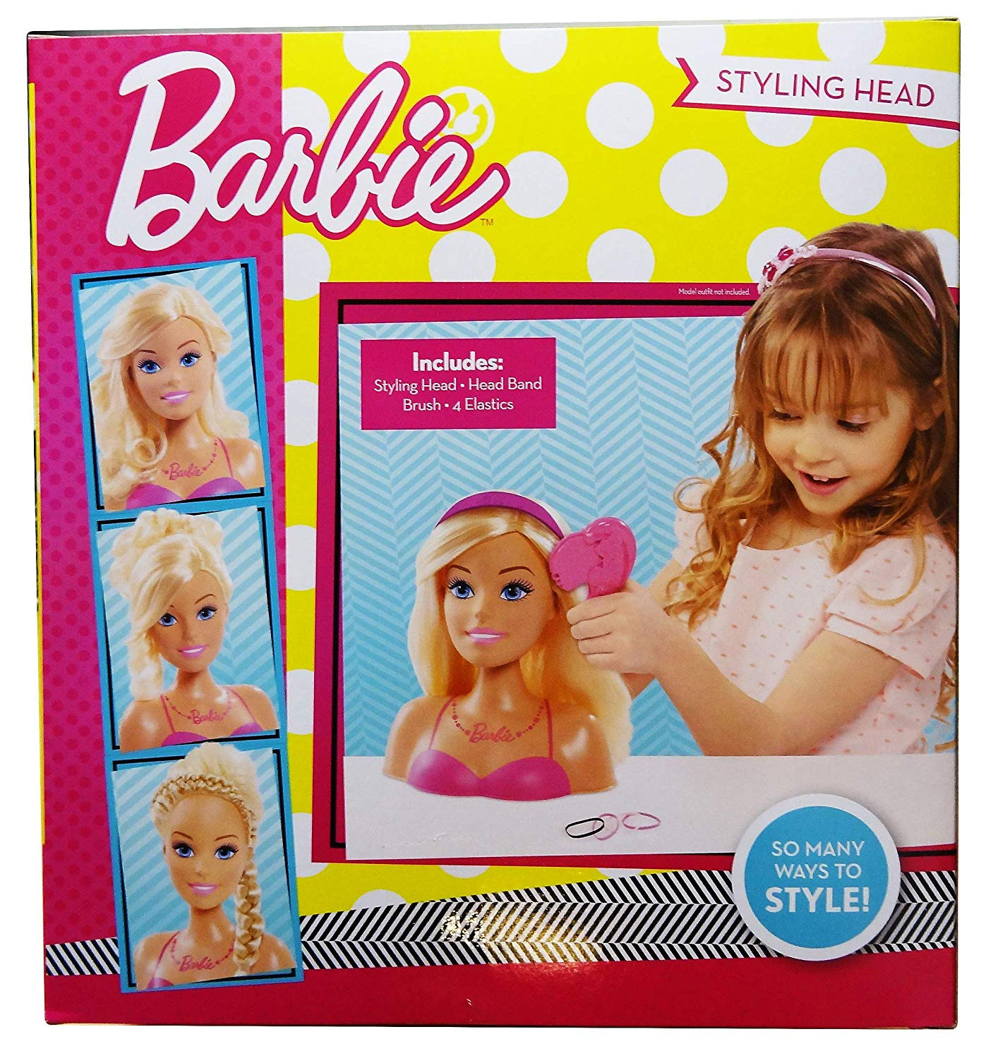 Dolls Accessories New Arrival Doll Head With Colorized Hair Accessories For Barbi Dolls Baby Toys Random Style Cheap Sales 50%