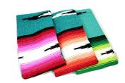 Hand Woven Diamond Mexican Yoga Blankets