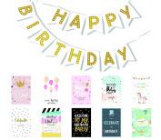 Happy Birthday Banner - Birthday Decorations - Premium Quality Birthday Banner - Party Decorations Birthday Kids
