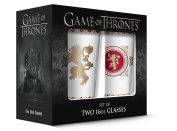 PB Licencing 2-Piece Game of Thrones Pub Glass Lannister Set, 470ml