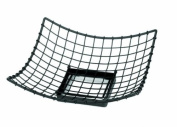 TableCraft Products GMT1717 Square Transformer Basket, 43cm x 43cm x 15cm , Black