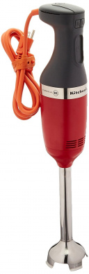 KitchenAid KHBC210ER Commercial Series NSF Certified Immersion Blender, 25cm , Empire Red