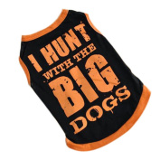 Puppy Clothes,Haoricu Breathable Cosy Dog Vest T-shirt With BIG Patterned Clothing