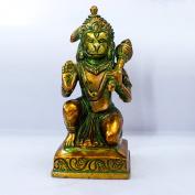 The Holy Mart Brass Hanuman ji Statue
