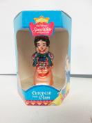 Disney Classics Snow White And The Seven Dwarfs European Style Glass Snow White w/ Basket Ornament