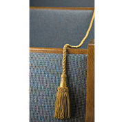 Weighted Pew Rope - 1.2m Long - Made of Heavy, Lustrous Rayon and Cotton With 13cm Tassels