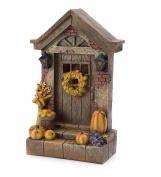 Harvest Fairy Door - 6.75 W x 10.5 H x 3.5 D