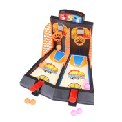 ZUINIUBI Desktop Basketball Game Mini Tabletop Shooting Score Toy 1 or 2-Player Arcade Shootout Competition Gift For Kids Adults