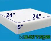 13cm x 60cm x 60cm BayTrim High Density Upholstery Foam Cushion (1844)