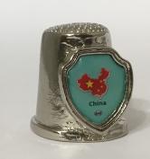 "Country ""CHINA"" Souvenir Thimble"