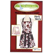 """THE APRON LADY """"FLIRTY SKIRTY"""" Sewing Pattern"""