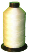 Item4ever® RAW White Bonded Nylon Sewing Thread Size #92 T90 1850 Yard for Outdoor, Leather, Upholstery