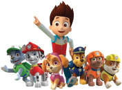 PAW Patrol Group - Ryder Chase Marshall Rocky Rubble Skye Zuma - For Dark-Coloured Materials - Iron On Heat Transfer 18cm x 13cm