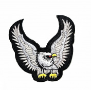 HHO The Eagle Wildlife cartoon Patch Embroidered DIY Patches, Cute Applique Sew Iron on Kids Craft Patch for Bags Jackets Jeans Clothes