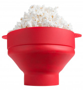 Microwave Silicone Collapsible Popcorn Popper by Kitchen Winners