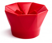 Popcorn Popper for Microwave - Healthy Choice - Easy to Use - Collapsible Silicone with Built-in Measurements