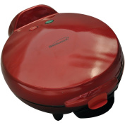 1 - Red Quesadilla Maker, 900W , Multipurpose cooking ability, 6 portions , Nonstick hot plates for easy cleaning