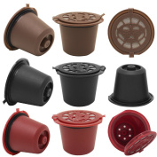 9 Nespresso Refillable Capsules Coffee Filters Reusable Capsules Pods