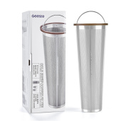 Ultra-Fine Mesh Cold Brew Coffee Filter to Use with 1.9l Mason Jar