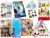 Dumbo Mini Plush Disney Tsum Tsum Collection Bubble Fever Card Game / Toy Story Figure Blind Bag / Finding Dory Pencils confetti Stickers / Stamp Characters / Activity Fun Pad / Lined Pad